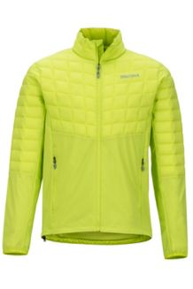 Featherless Hybrid Jacket, Bright Lime, medium