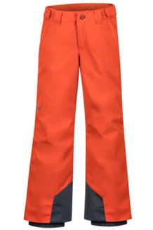 Boy's Vertical Pant, Orange Haze, medium