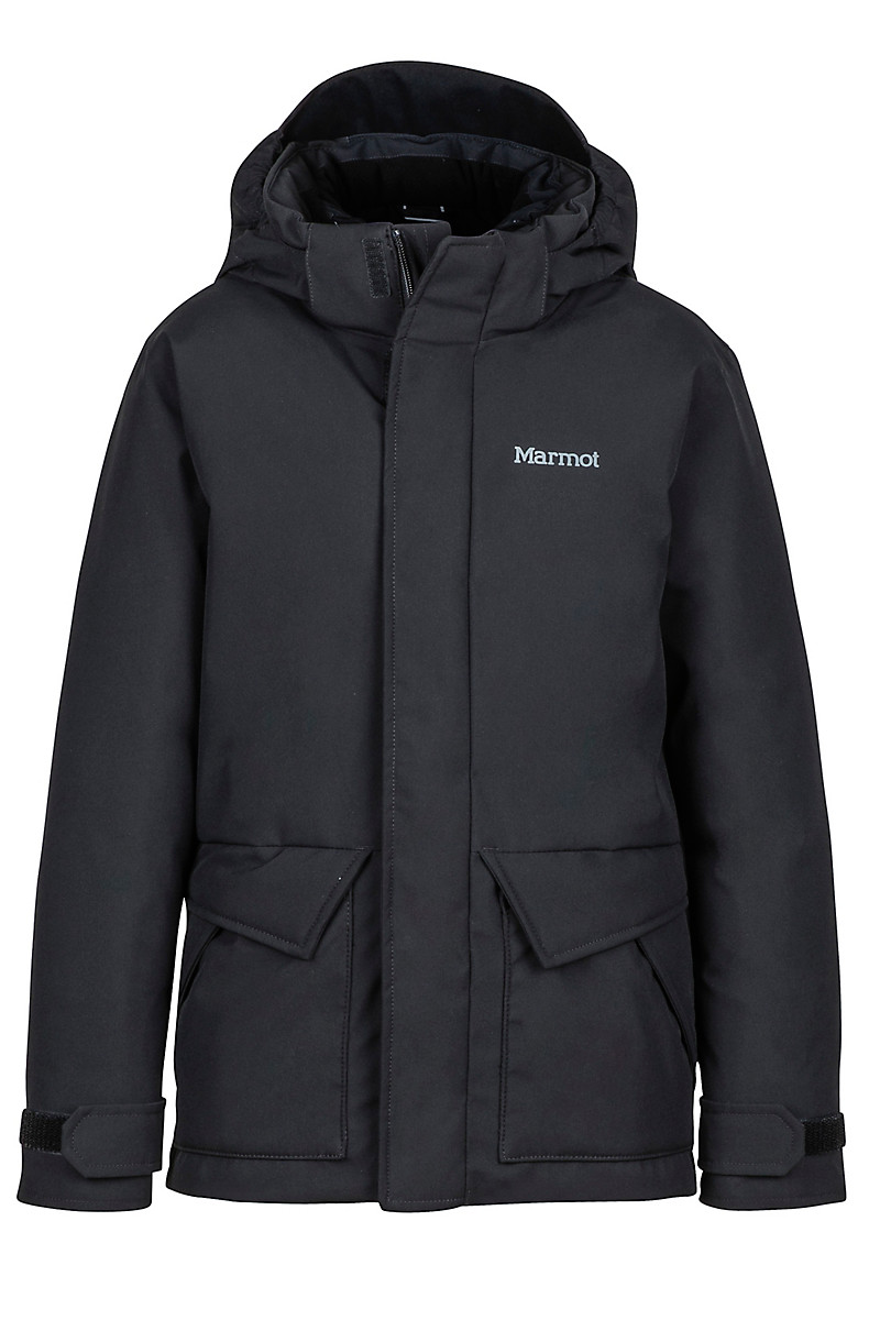 Boy's Colossus Jacket, Black, large