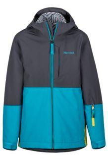Boy's Panorama Jacket, Slate Grey/Enamel Blue, medium