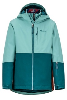 Boy's Panorama Jacket, Blue Agave/Deep Teal, medium