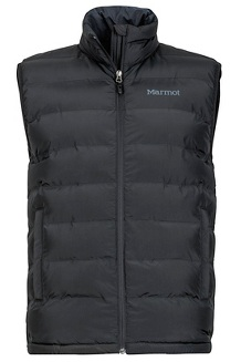 Men's Alassian Featherless Vest, Black, medium