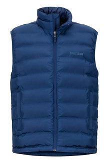 Men's Alassian Featherless Vest, Arctic Navy, medium