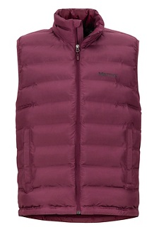 Men's Alassian Featherless Vest, Fig, medium
