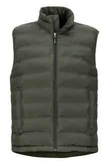 Men's Alassian Featherless Vest, Rosin Green, medium