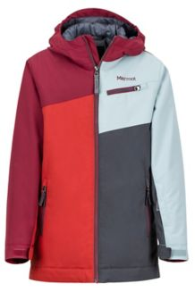 Boy's Thunder Jacket, Auburn/Madder Red, medium