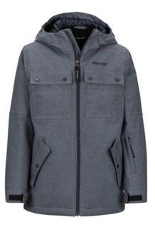 Boy's Bronx Jacket, Dark Steel, medium