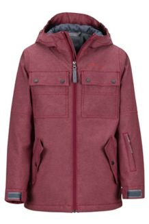 Boy's Bronx Jacket, Madder Red, medium