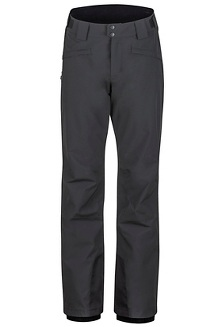 Men's Doubletuck Shell Pants - Short, Black, medium