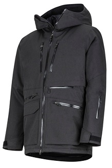 Men's Schussing Featherless Jacket, Black, medium