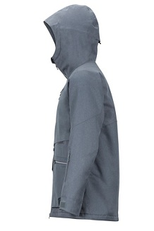 Men's Schussing Featherless Jacket, Steel Onyx, medium