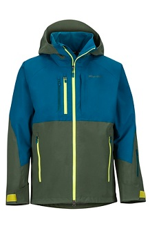 Men's BL Pro Jacket, Crocodile/Moroccan Blue, medium