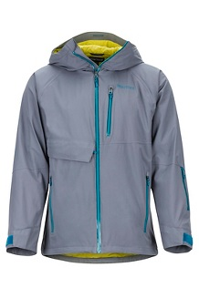 Men's Castle Peak Jacket, Steel Onyx/Moroccan Blue, medium