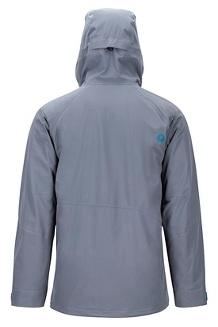 Men's Castle Peak Jacket, Steel Onyx/Moroccan Blue, medium