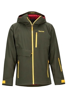 Men's Castle Peak Jacket, Rosin Green/Golden Leaf, medium