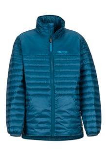Boys' Hyperlight Down Jacket, Denim, medium