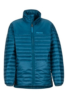 Boys' Hyperlight Down Jacket, Denim, medium