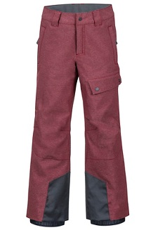 Boy's Bronx Pants, Madder Red, medium