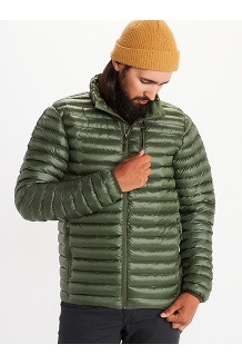 Men's Avant Featherless Jacket, Crocodile, medium