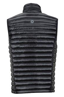 Men's Avant Featherless Vest, Black, medium