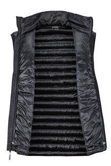 Men's Avant Featherless Vest, Black, medium