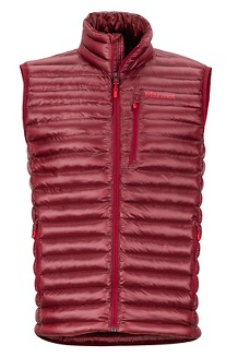 Men's Avant Featherless Vest, Brick, medium