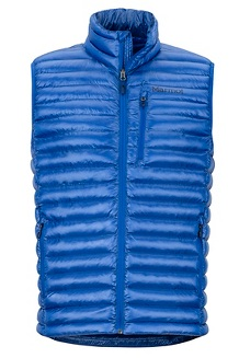 Men's Avant Featherless Vest, Surf, medium