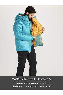 Unisex West Rib Parka, Enamel Blue, medium