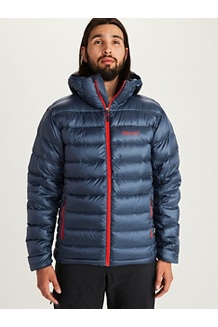 Men's Hype Down Hoody, Arctic Navy, medium