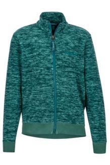 Boy's Couloir Fleece Jacket, Deep Teal, medium