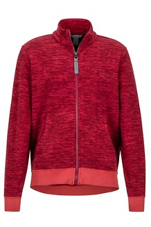 Boy's Couloir Fleece Jacket, Madder Red, medium