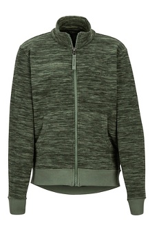 Boys' Couloir Fleece Jacket, Crocodile Heather, medium