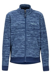 Boys' Couloir Fleece Jacket, Arctic Navy Heather, medium