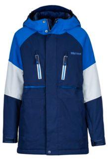 Boy's Gold Star Jacket, Arctic Navy/True Blue, medium