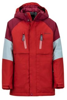 Boy's Gold Star Jacket, Auburn/Madder Red, medium