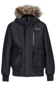 Boy's Stonehaven Jacket, Black, medium