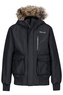 Boy's Stonehaven Jacket, Black, medium