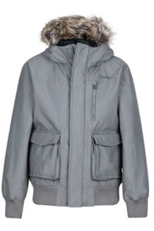 Boy's Stonehaven Jacket, Cinder, medium