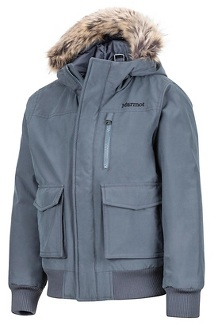 Boys' Stonehaven Jacket, Steel Onyx, medium