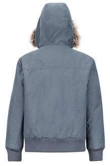 Boys' Stonehaven Jacket, Steel Onyx, medium