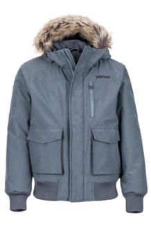 Boy's Stonehaven Jacket, Steel Onyx, medium
