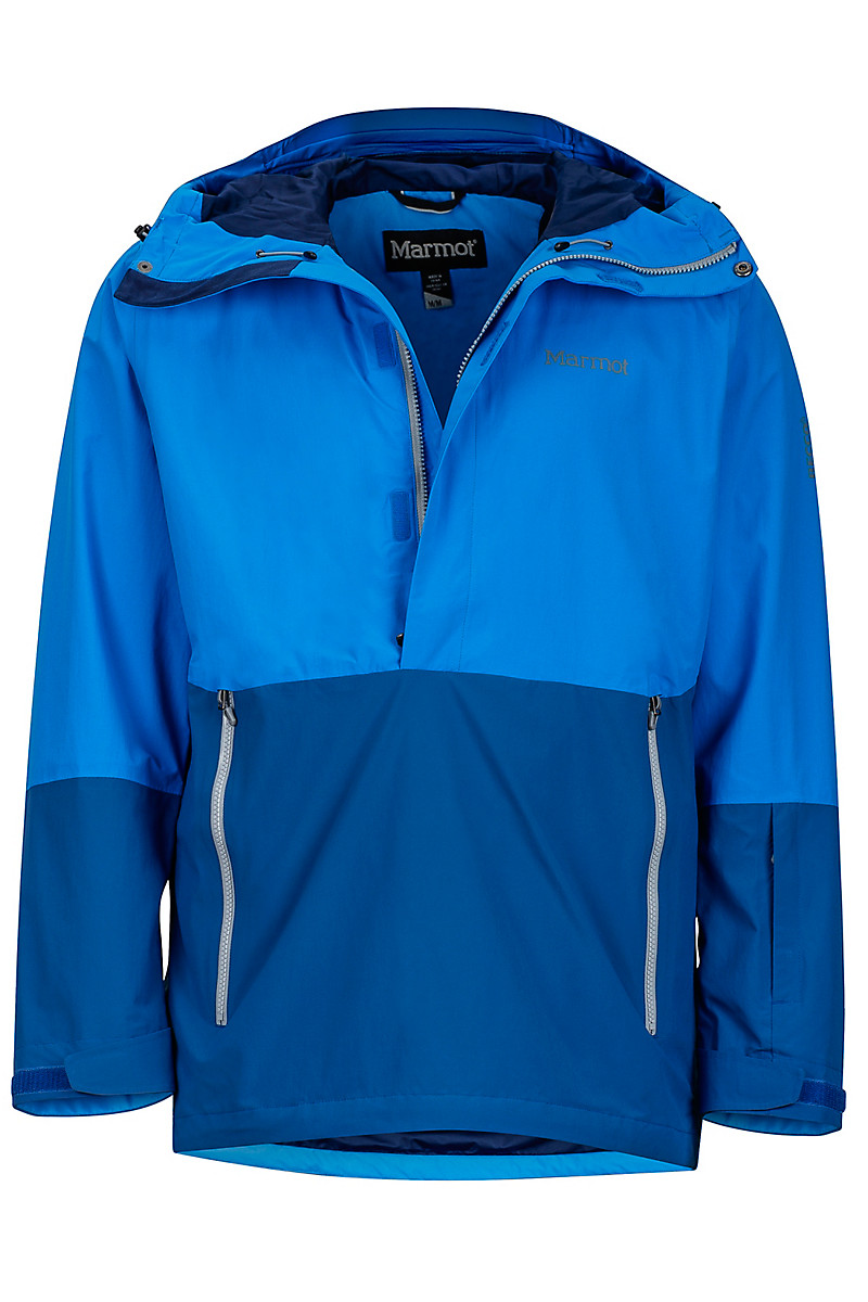 Crossover Anorak Clear Blue Dark Cerulean Large