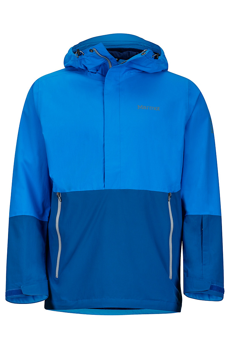 Crossover Anorak, Clear Blue/Dark Cerulean, large