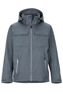 Radius Jacket, Steel Onyx Heather, medium