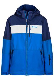 Boy's Headwall Jacket, True Blue/Arctic Navy, medium