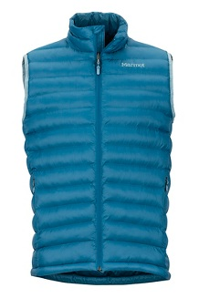 Men's Solus Featherless Vest, Moroccan Blue, medium