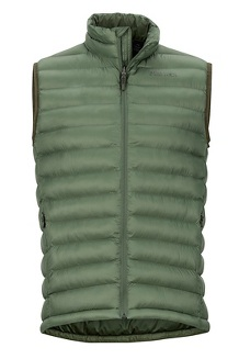 Men's Solus Featherless Vest, Crocodile, medium