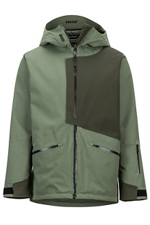 Men's Androo Jacket, Crocodile/Rosin Green, medium