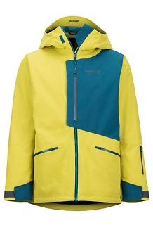 Men's Androo Jacket, Citronelle/Moroccan Blue, medium