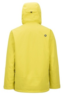 Men's Androo Jacket, Citronelle/Moroccan Blue, medium